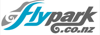 Auckland airport parking at Fly park: logo